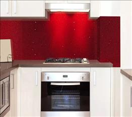 silver star red kitchen