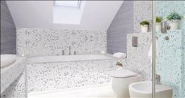galaxy white bathroom