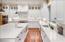 silver star white kitchen