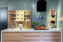 blanco maple kitchen